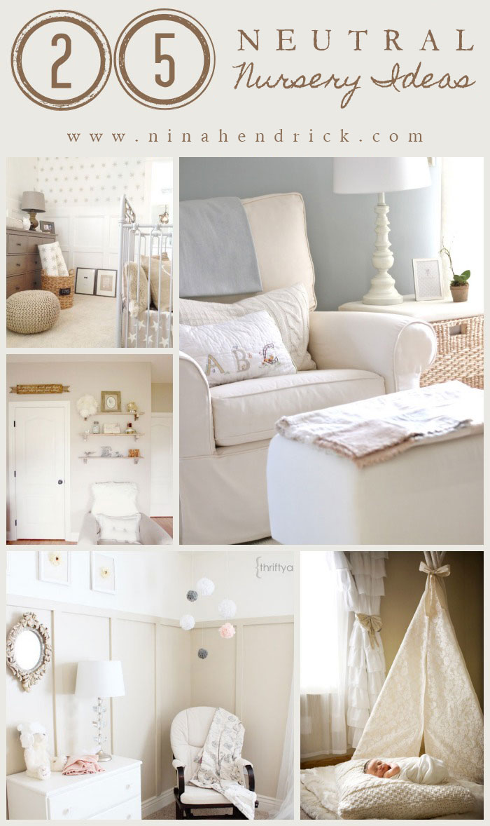 25 neutral nursery ideas soft and classic decor inspiration. Black Bedroom Furniture Sets. Home Design Ideas