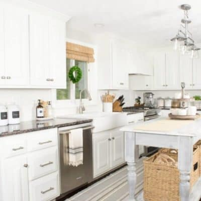10 Ways to Add Character to a White Kitchen