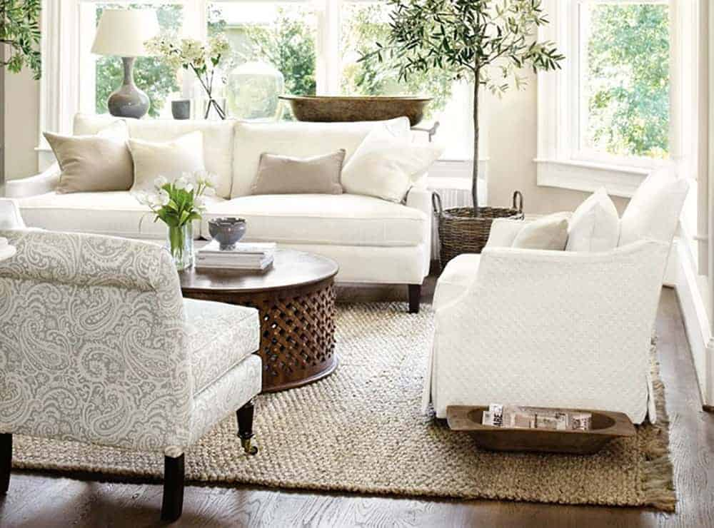 Gather resources for Natural and Neutral Family Room Inspiration and get tips and tricks for moving forward in a tricky space.
