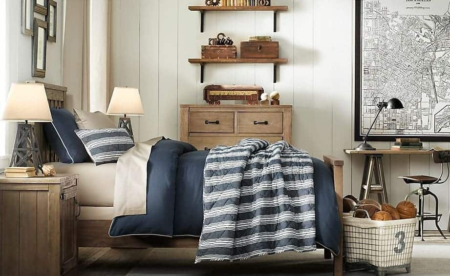 Rustic Industrial Boy Bedroom Design | Gather Inspiration From This Mood  Board For A Rustic Industrial Boy Bedroom Design From Nina Hendrick Design  Co.