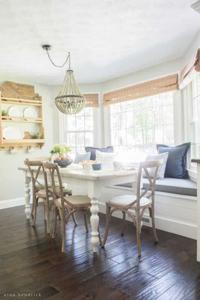 Farmhouse Breakfast Nook Reveal