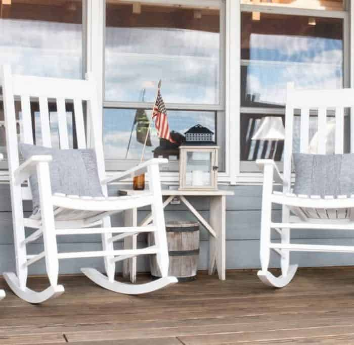 Camp Lakeside Porch Inspiration & Updates