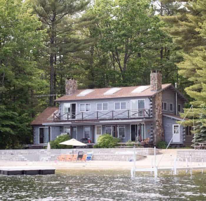 Camp: Rustic Lakeside Log Cabin Home Tour
