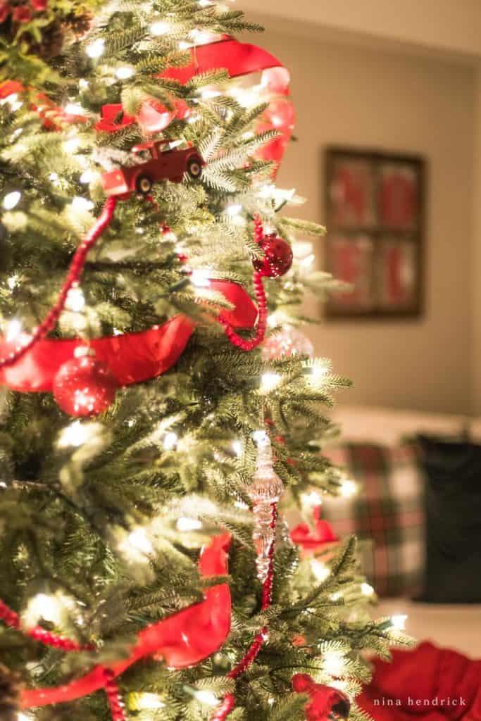 Christmas Tree at Night