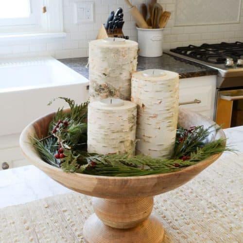 Christmas Home Tour | Rustic and Cozy Christmas Holiday Decor Inspiration from nina_hendrick