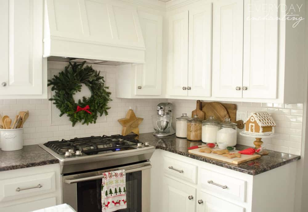 Farmhouse Holiday Baking in the Christmas Kitchen