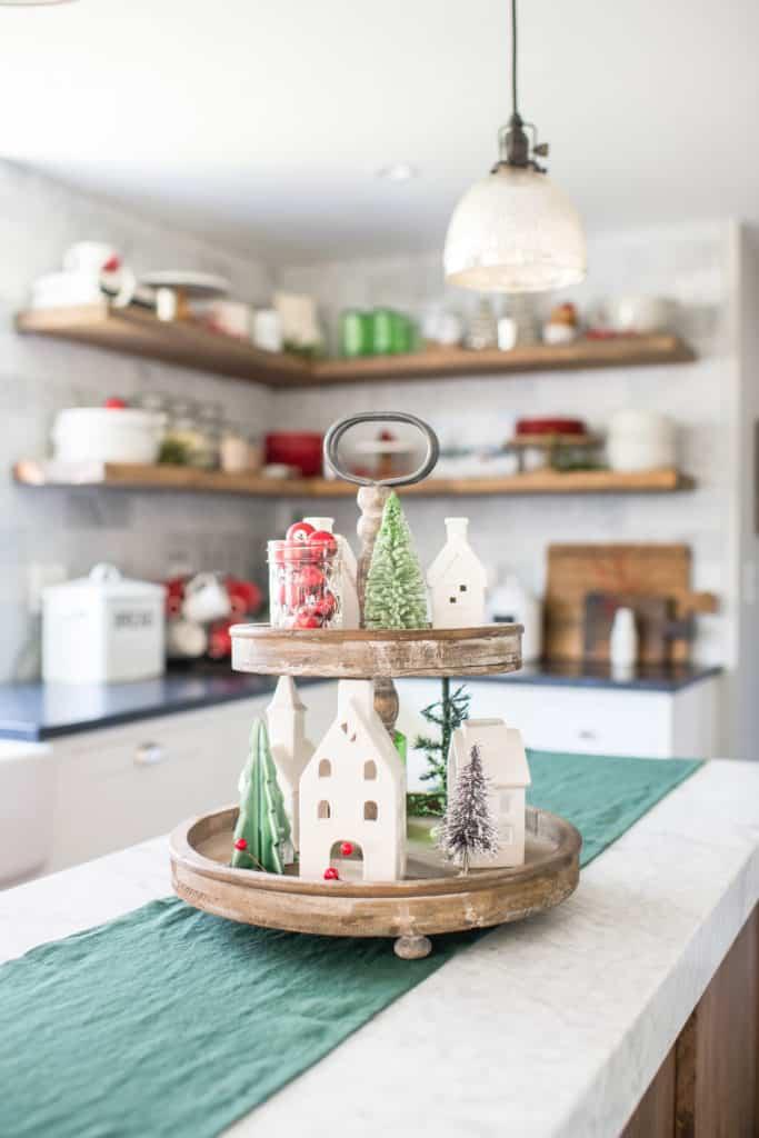Christmas Village Decorating Idea