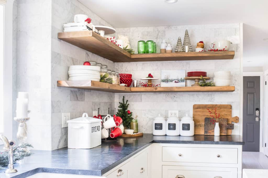 Classic Christmas Kitchen Decorating Ideas and Inspiration