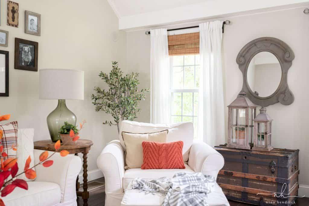 Classic Fall Family Room Decor Nina Hendrick Home