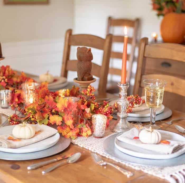 Classic Fall Tablescape