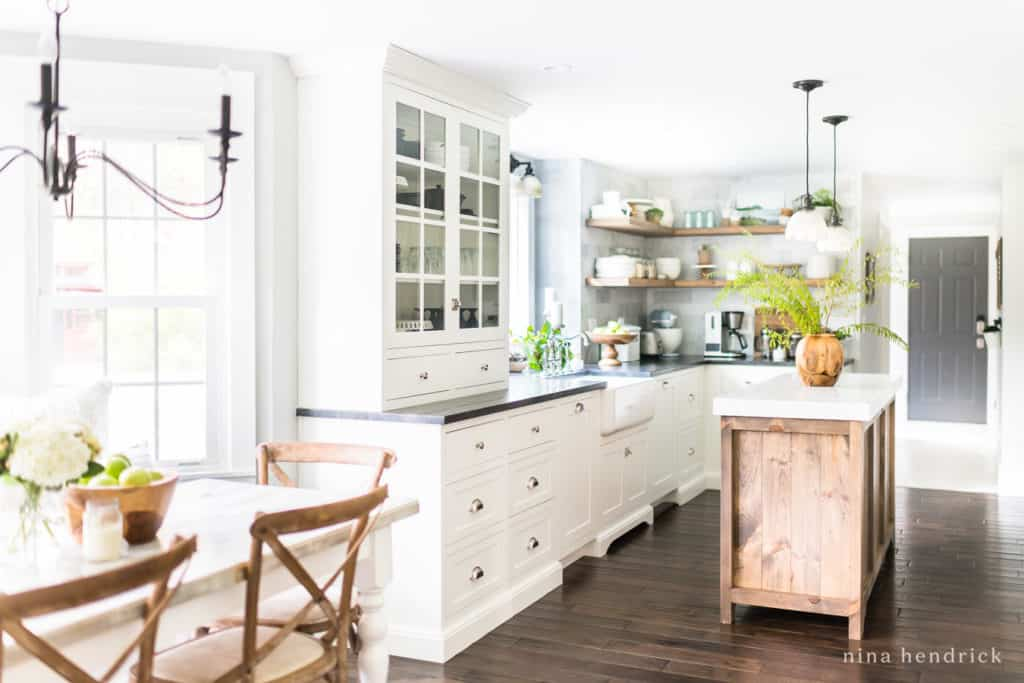 Here's a full breakdown of all of the items I sourced for our kitchen renovation and why I chose them. You can use this Classic Kitchen Renovation source list to lay the groundwork for your own renovation! #kitchenmakeover #whitecabinets #kitchenideas