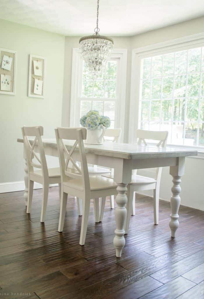 DIY Cottage Dining Table Tutorial