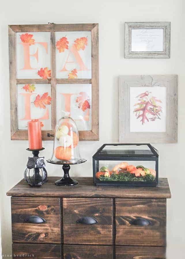 Step inside this classic blogger fall home tour and gather autumn inspiration ideas from the pumpkins, foliage, and a warm cider bar.