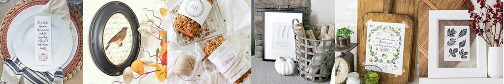 Watercolor Heirloom Pumpkin Printabes | Get a free copy of these watercolor heirloom pumpkin printables to download, print, and decorate your home for fall!