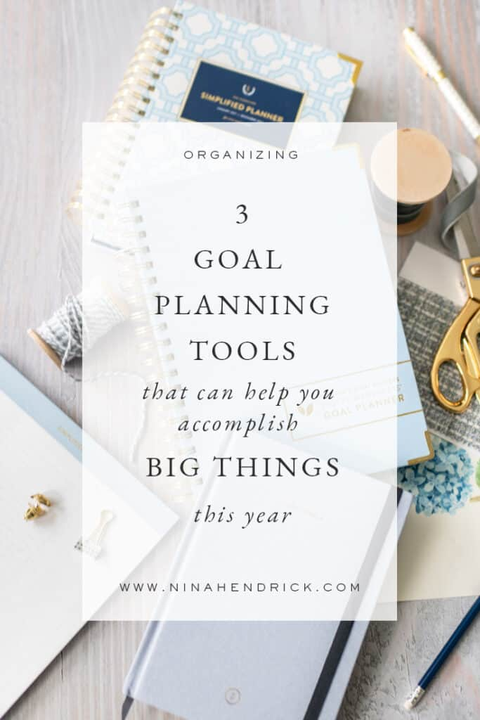 Goal planning tools to help you achieve your biggest dreams