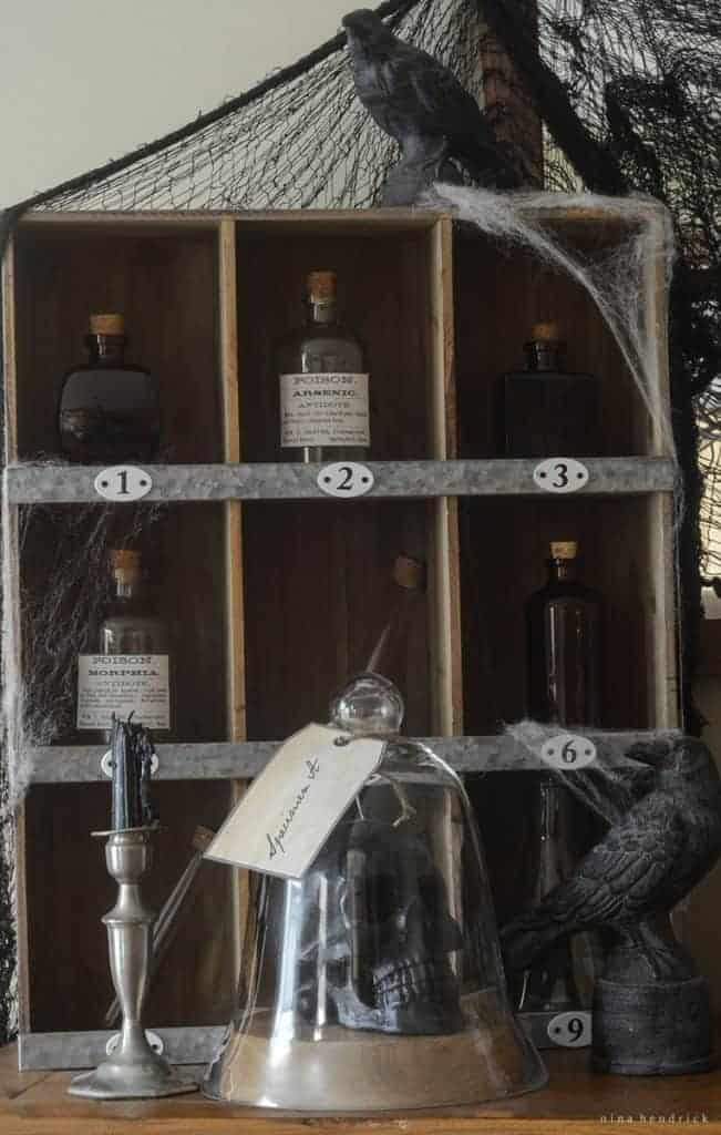 "Gather inspiration from the ""study"" of a Victorian Mad Scientist in this ApotheScary Vignette and see all of his wares and experiments on display!"