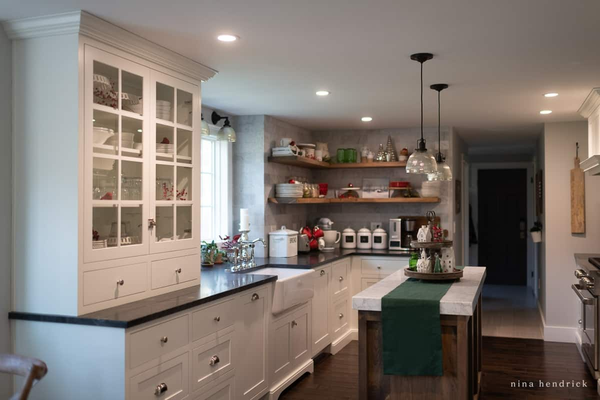 Kitchen Can Recessed Lighting with HALO Home Smart Lighting System