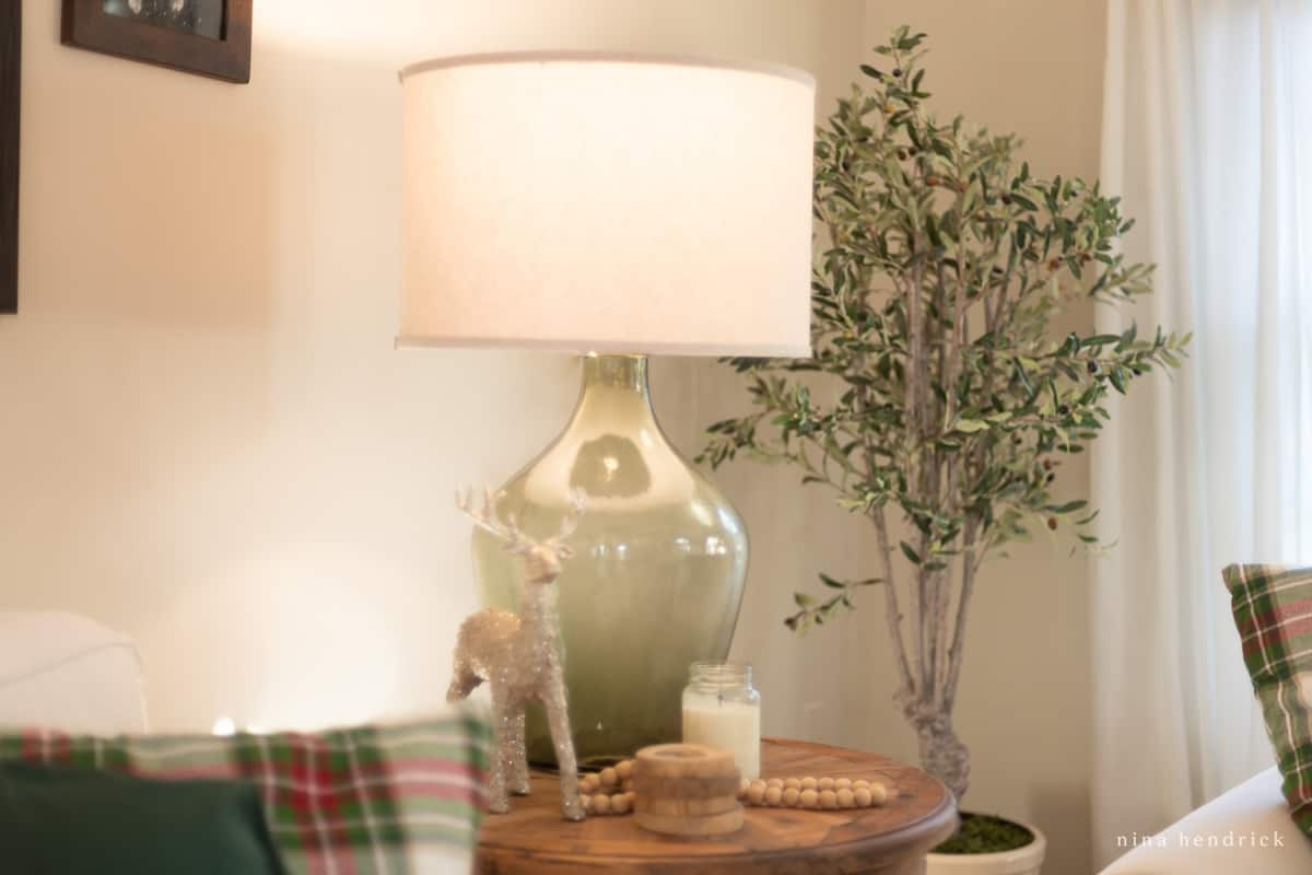 Family Room Lamp with HALO Home Smart Bulb