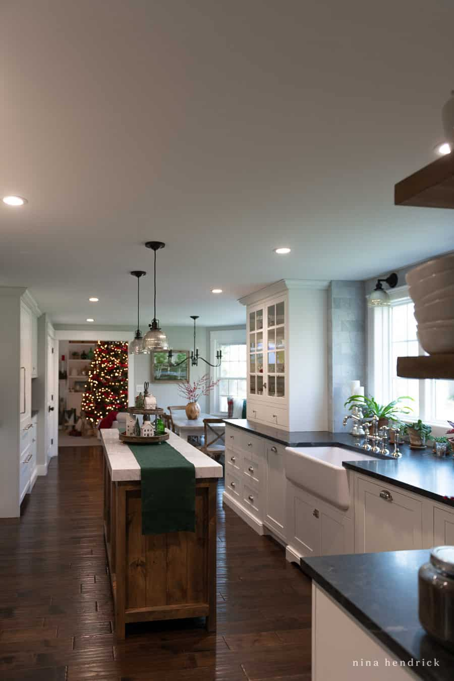 Kitchen recessed lights with HALO Home Smart Lighting