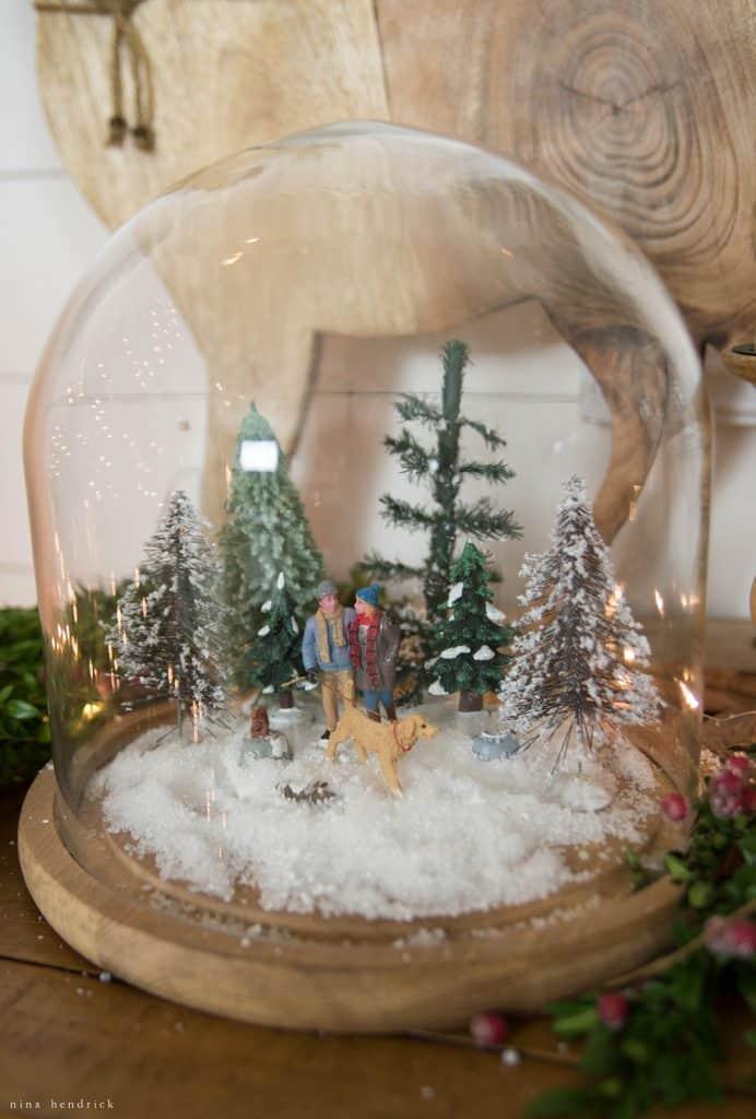 Christmas 2016 Nina Hendrick Holiday Housewalk | Walk in the Woods Jar