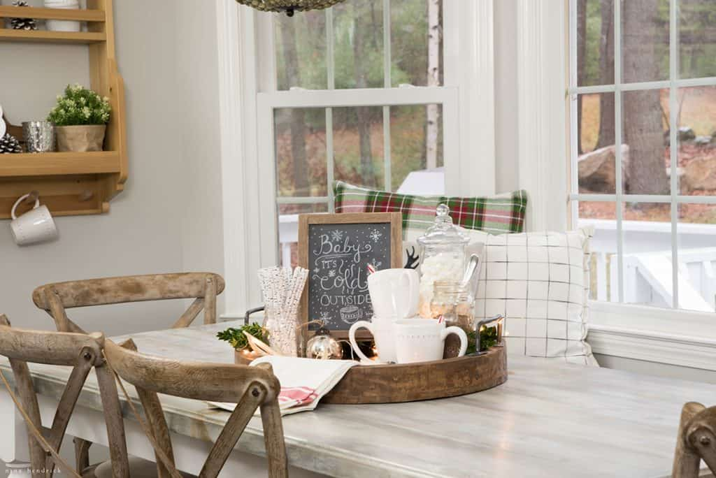 Christmas 2016 Nina Hendrick Holiday Housewalk | Hot Chocolate Tray