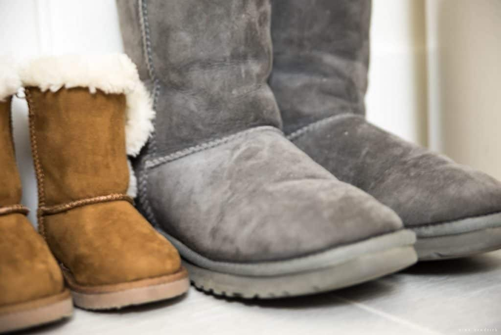 Christmas 2016 Nina Hendrick Holiday Housewalk | Big and Little Winter Boots