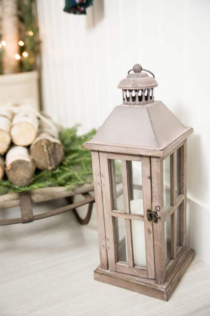 Christmas 2016 Nina Hendrick Holiday Housewalk | Rustic Lantern