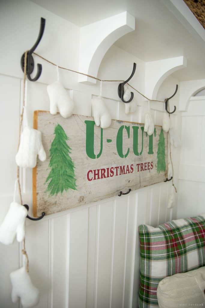 Christmas 2016 Nina Hendrick Holiday Housewalk | U Cut Christmas Trees Sign