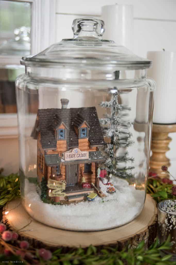Christmas 2016 Nina Hendrick Holiday Housewalk | Log Cabin Jar