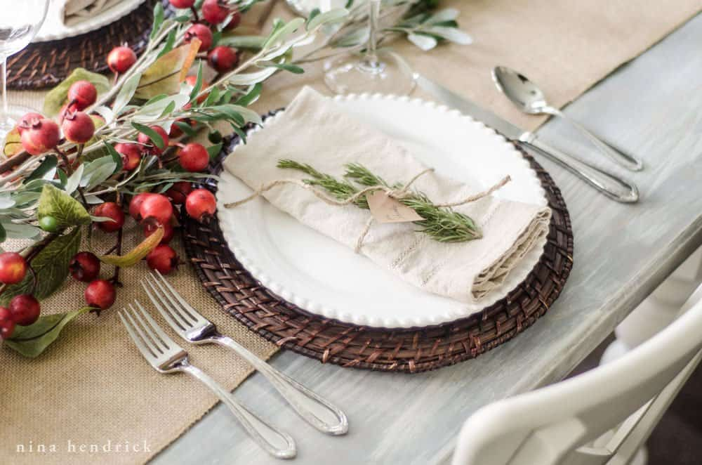 Learn how to create a tablescape and choose your place settings.