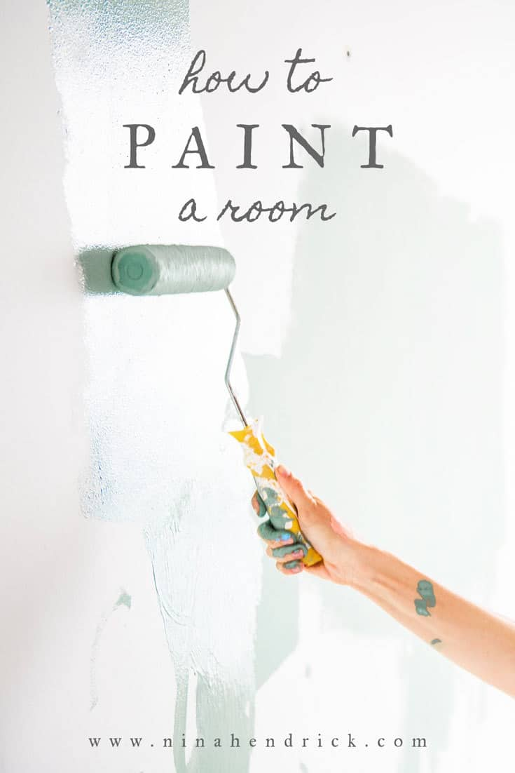 How to Paint a Room | Get the best tips and tricks for how to paint a room step by step with this complete guide.
