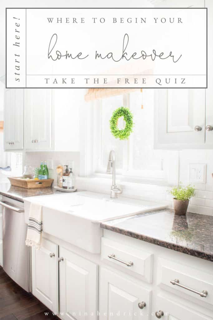 Home Makeover | Take the free quiz to decide how to start your home makeover!