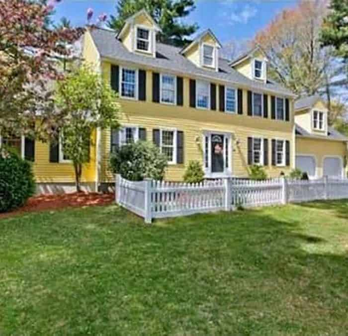 Before Photos of a New England Colonial