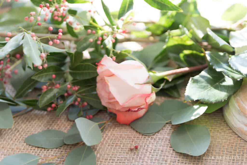 Jane Austen English Rose Garden-inspired Valentine's Day Centerpiece