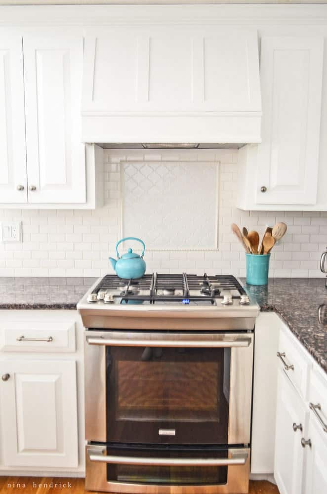 DIY Storage Range Hood Custom Vent Cover Tutorial
