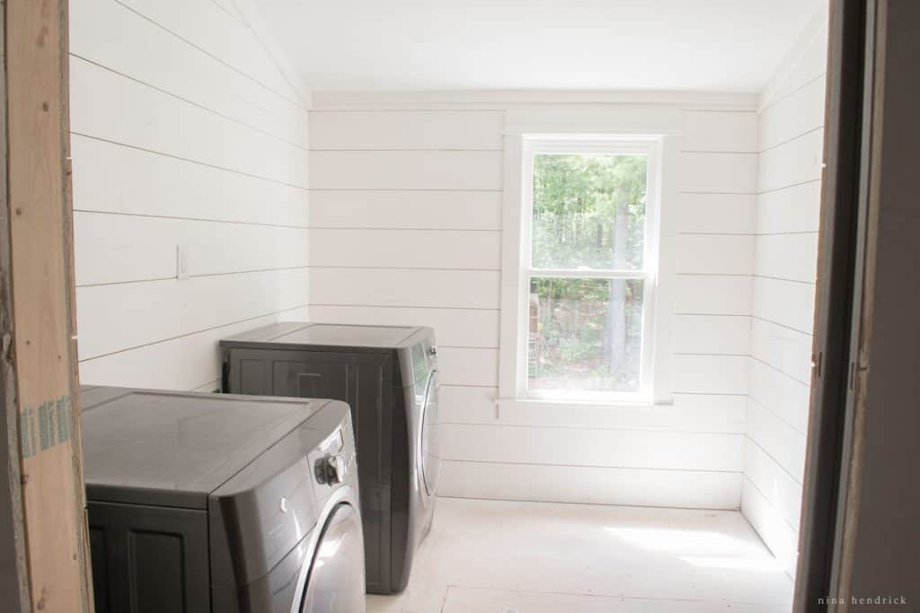 Farmhouse Laundry Room Project Inspiration and Mood Board | Gather inspiration to create a farmhouse style laundry room from this collection.