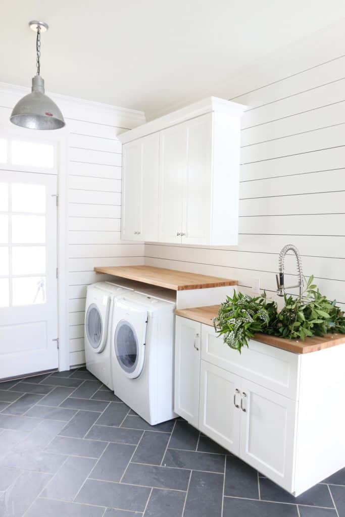 Laundry Room and Mudroom by Studio McGee