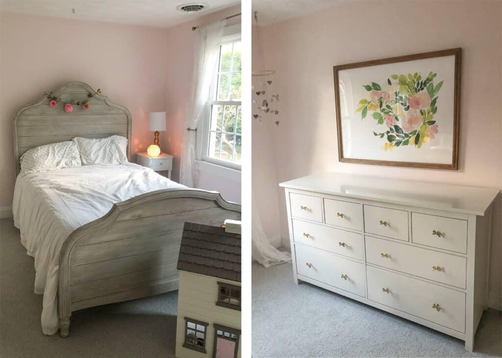 Girl's Bedroom Design Before