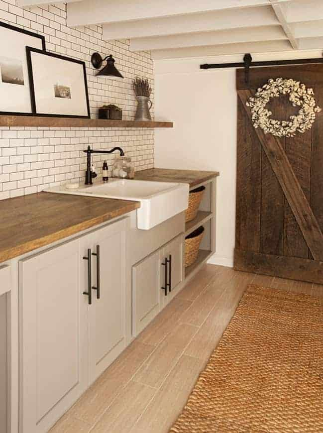 Laundry Room by Jenna Sue Design Co.