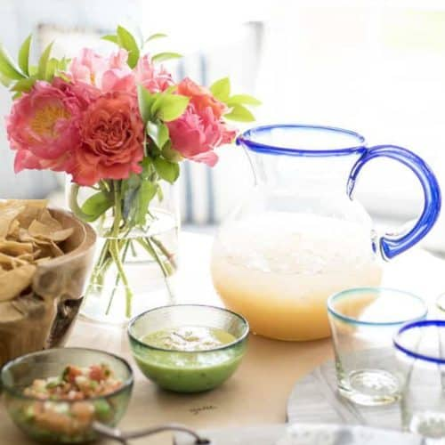 Quick & Simple Margarita Making Party