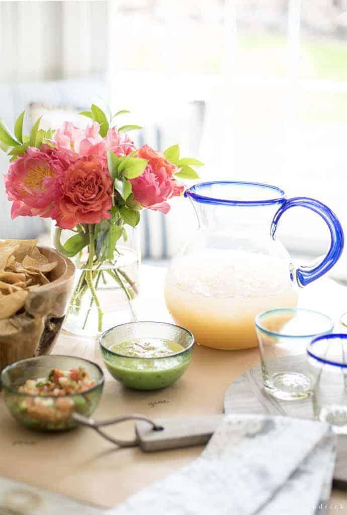 Quick & Simple Margarita Making Party