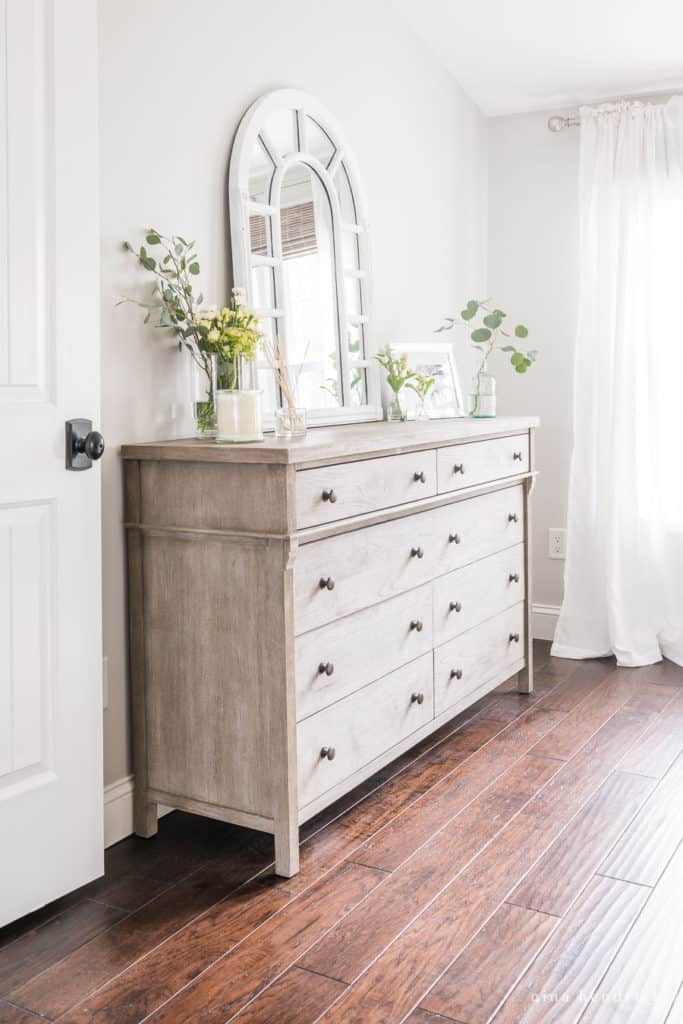 Dresser in Master Bedroom Renovation