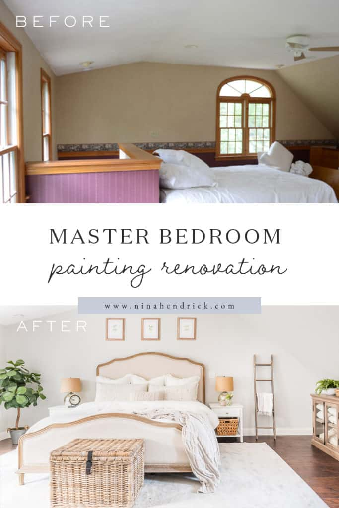 Master Bedroom Painting Renovation