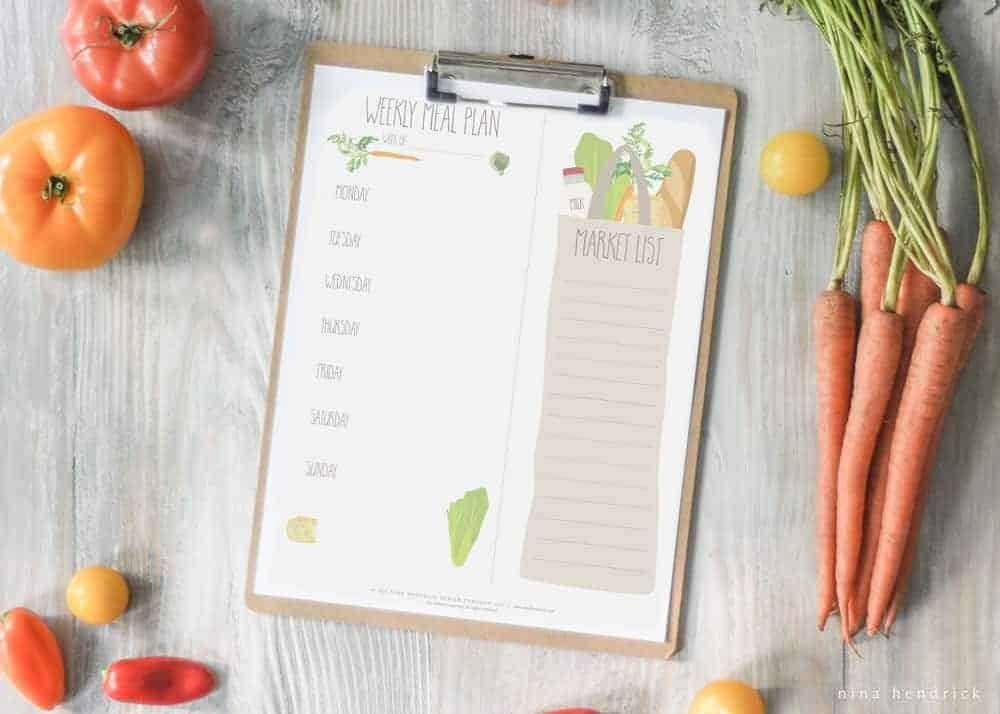 Meal Planning Essentials | Master meal planning and prep with this detailed guide on mapping out a weekly menu and gathering meal planning essentials.