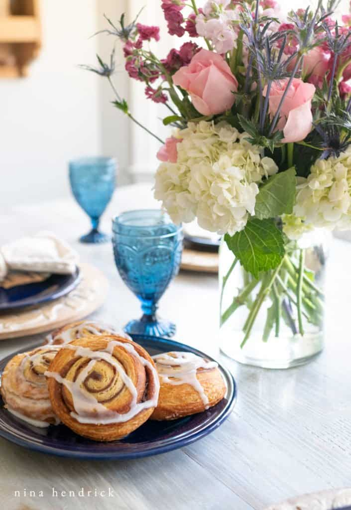 Mother's Day Brunch centerpiece ideas