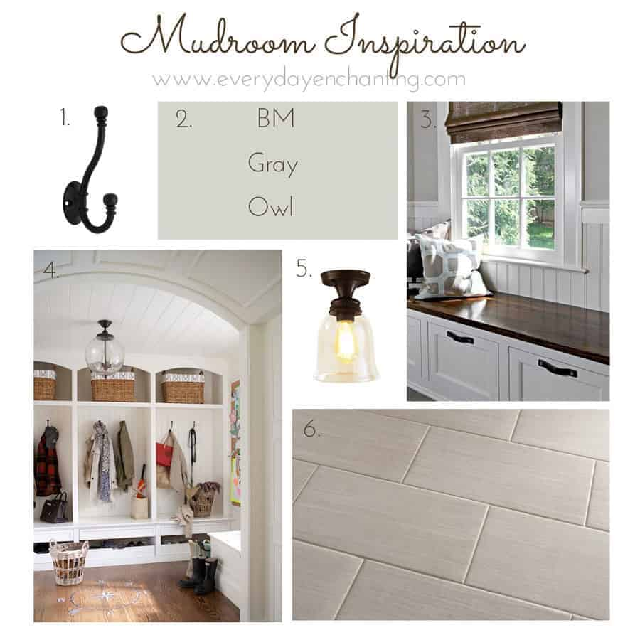 Farmhouse Mudroom Inspiration