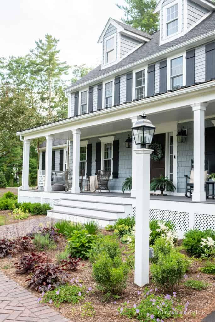 New England Colonial Farmer's Porch