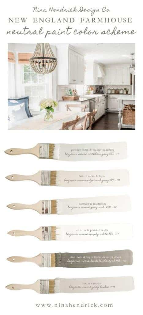 New-England-Farmhouse-Whole-House-Paint-Color-Scheme