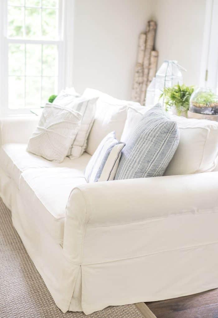 PB Comfort Slipcovered Sofa Review