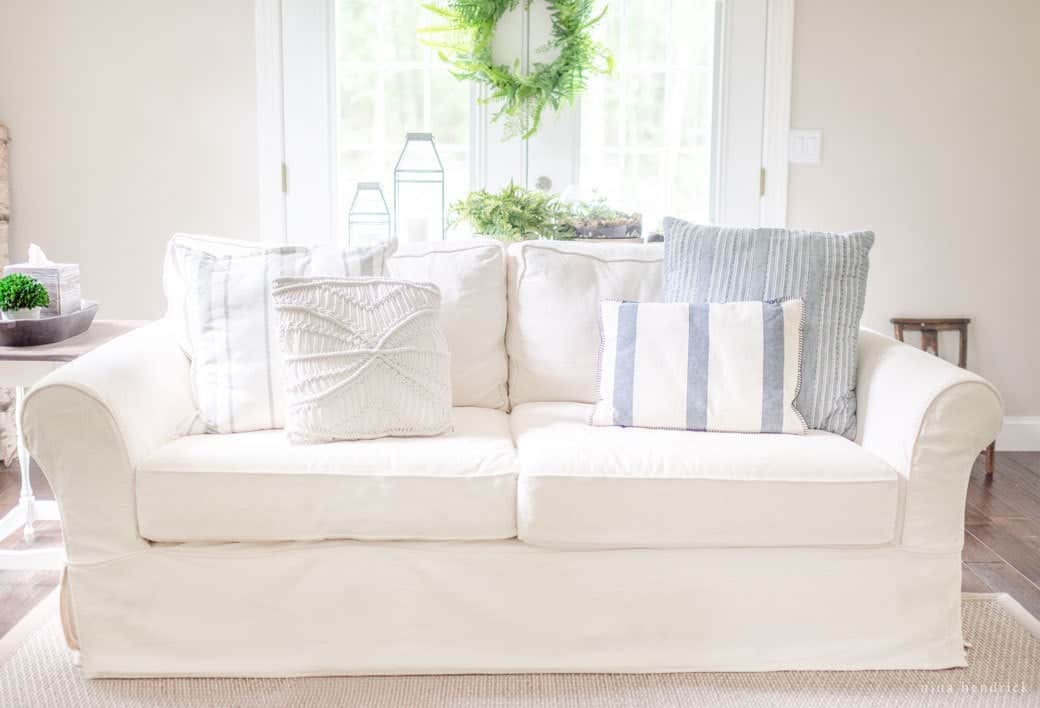 Pottery Barn Quilt Reviews: Pottery Barn Slipcovered PB Comfort Sofa Review